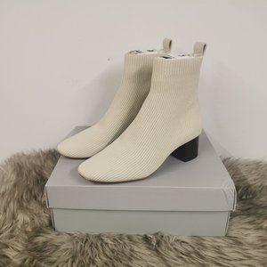 Everlane The Glove Boot ReKnit Bone